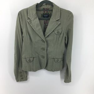 American Eagle Outfitters 🍀 Olive Blazer